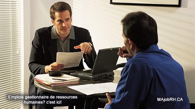 Description du gestionnaire des ressources humaines